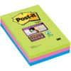 Bloček Post-it® Super Sticky, 3 bločky á 90 lístků, linkovaný