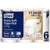 Toilettpapier 4-lag.42RL weiß TORK 110405 Sys. T4
