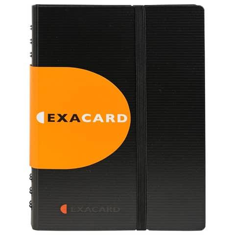 Visitenkartenbuch Exactive Schwarz Exacompta 75034e