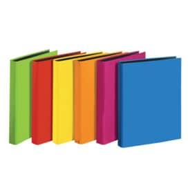 Veloflex® Ringbuch VELOCOLOR® - A4, Karton, 4-D-Ring, Ring-Ø 25 mm, farbig sortiert