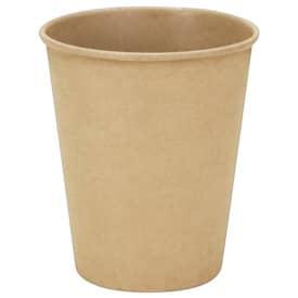 HOSTI® Kompostierbare Pappbecher aus Kraftkarton mit PLA Beschichtung innen, 200ml, 50 Stück