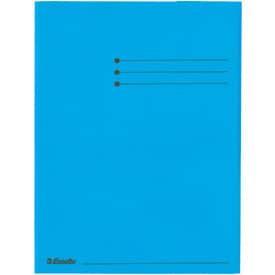 Dreiflügelmappe  blau ESSELTE 44224
