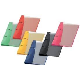 Veloflex® Ringordner Diamond, DIN A5, PP-Vollkunststoff, 2-Rund-Ring-Mechanik 20 mm, farbig sortiert