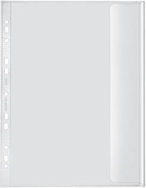Veloflex® Dokumentenhülle, EURO, A4, PP, genarbt, transparent