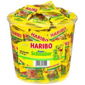 Fruchtgummi Schnuller Mini HARIBO 4161525  100BT
