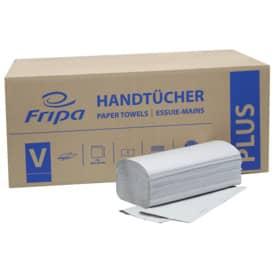 Fripa Handtücher Plus - Zick-Zack-Falzung, 1-lagig, recycling, 20 x 250 Blatt