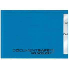 Veloflex® Ausweishülle Document Safe® VELOCOLOR® - 90 x 63 mm, PP, blau