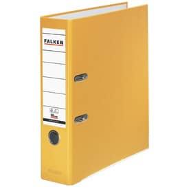 Falken Ordner PP-Color S80 - A4, 8 cm, gelb