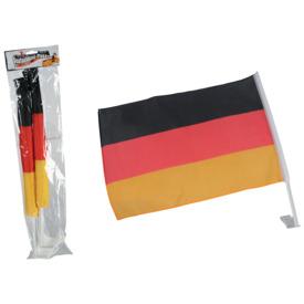 """Autofahne """"""""Deutschlandflagge"""""""" - 45 x 30 cm, 2 Stück"""