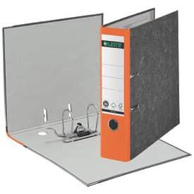 Leitz 1080 Ordner A4 Wolkenmarmor, 80 mm, orange