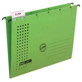 ELBA Hängemappe chic - Karton (RC), 230 g/qm, A4, grün
