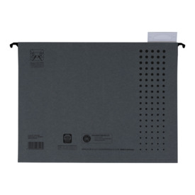 ELBA Hängemappe chic - Karton (RC), 230 g/qm, A4, anthrazit