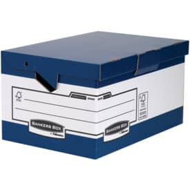 Fellowes® Bankers Box® System ERGO-Stor™ Klappdeckelbox Maxi