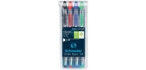 Kugelschreiber Etui 4ST Basic Produktbild