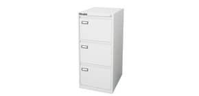 Classificatore per cartelle sospese KUBO 3 cassetti  46x62x101 cm bianco 4303 Immagine del prodotto