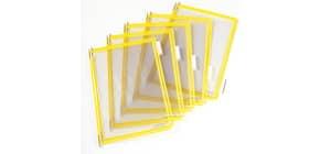Buste per leggio Tarifold® T-Technic A4 giallo - PVC bordo rinforzato Conf. 10 pezzi - 114004 Immagine del prodotto