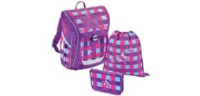 Schultaschenset Fabby Pink Star Produktbild