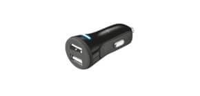 Caricatore da auto Trust Car2 USB 2x10W  nero - 20572 Immagine del prodotto