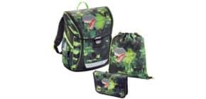 Schultaschenset Fabby Green Dino Produktbild