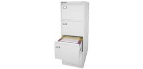 Classificatore per cartelle sospese KUBO 4 cassetti 46x62x132 cm bianco 4304 Immagine del prodotto