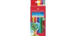 Matite colorate Faber-Castell Colour Grip assortiti astuccio da 12 - 112412 Immagine del prodotto