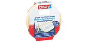 Kreppband Tesakrepp 19mmx25m TESA 57416-00000-02 Grafik Fixierkr Produktbild