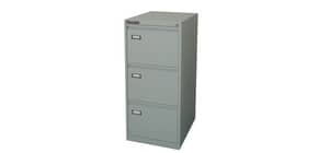 Classificatore per cartelle sospese KUBO 3 cassetti  46x62x101 cm grigio 4003 Immagine del prodotto