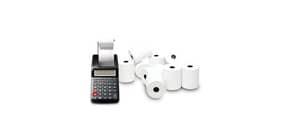 Rotoli calcolatrice Offset Rotolificio Pugliese 57 mm x D.E. 60 mm foro 12 mm blister da 10 - CAL05B Immagine del prodotto