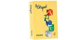 Carta colorata FAVINI LE CIRQUE per tutte le tecnologie di stampa 80 g/m² A4 giallo sole 202  500 fogli - A71B504 Immagine del prodotto