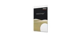 Portastampati da parete deflecto® A5 verticale in plastica trasparente 47101 Immagine del prodotto