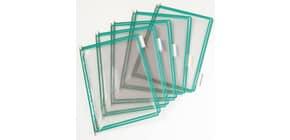 Buste per leggio Tarifold® T-Technic A4 verde - PVC bordo rinforzato Conf. 10 pezzi - 114005 Immagine del prodotto