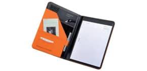 Cartella portablocco Alassio MESSINA in ecopelle 24x2,5x33 cm A4 arancione 30084 Immagine del prodotto