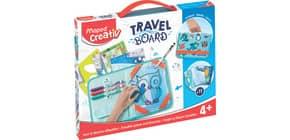 Zaubertafel Spiele & Zeichnungen transp. MAPED M969310 TRAVEL BOARD Produktbild