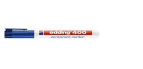 Marcatore permanente edding 400 punta conica 1 mm blu 4-400003 Immagine del prodotto