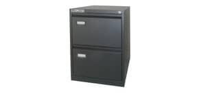 Classificatore per cartelle sospese KUBO 2 cassetti 46x62x70 cm nero 4102 Immagine del prodotto