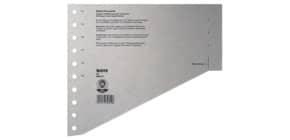 Staffeltrennblatt  A4 grau Produktbild