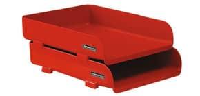 Portacorrispondenza ARDA RossoItalia polipropilene infrangibile rosso 25,4x33,5x7 cm - 85510RIR Immagine del prodotto