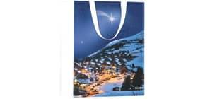 Weihn.Geschenktragtasche Winter Produktbild