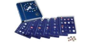 Münzringalbum Euro blau Produktbild