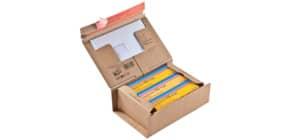 Versandkarton A5+ braun COLOMPAC 30000272 Produktbild