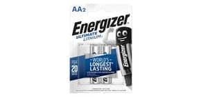 Batterie ENERGIZER Ultimate Lithium AA  conf. da 2 - E301535200 Immagine del prodotto