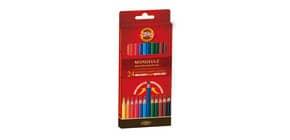 Astuccio matite multicolore KOH-I-NOOR legno di cedro 24 matite - H2140N Immagine del prodotto