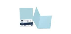 Cartellina semplice FAVINI FOLDER S cartoncino Simplex Luce&Acqua 200 g/m² 25x34cm celeste 08  conf.50 - A50T664 Immagine del prodotto