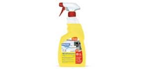 Sgrassatore alcolico disinfettante Sanitec Multi Activ multisuperficie - profumo limone - flacone 750 ml - 1838-S Immagine del prodotto