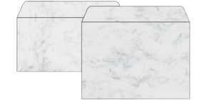Design Kuvert C5/6 50ST grau ProduktbildStammartikelabbildungM