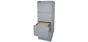 Classificatore per cartelle sospese KUBO 4 cassetti 46x62x132 cm grigio 4004 Immagine del prodotto