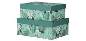 Geschenkkarton Samoa RÖSSLER 13491600000   2tlg Produktbild