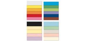 Cartoncini Bristol FAVINI 10 BRISTOL superficie levigatissima 200 g/m² 70x100cm azzurro 55  conf.10 - A35G0A1 Immagine del prodotto