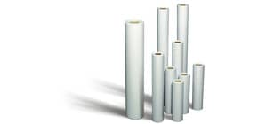 Carta plotter Rotomar 91,4 cm x 50 mt bianco semitraparente 60 g/m² Conf. 4 pezzi - PLTOP091450G604 Immagine del prodotto