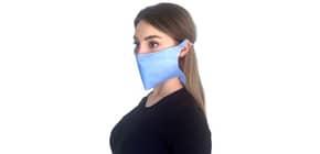Mascherine di protezione monouso - colore azzurro - Conf. 50 pezzi - MCDF.01 Immagine del prodotto